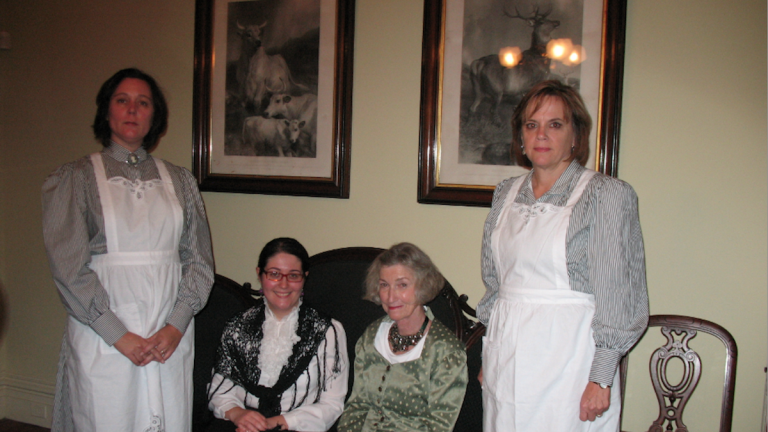 Ebenezer Maxwell Mansion's Upstairs/Downstairs series focuses on the experiences of Victorian-era women's experiences across class. (Photo courtesy of Maxwell Mansion)