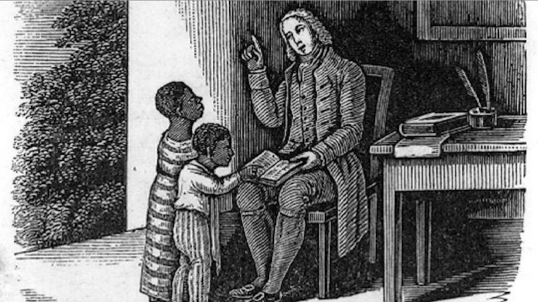 Anthony Benezet, moved from his native France to Germantown in the early 18th century and became one of the first educators in America to offer classes to women and persons of color. (Courtesy of Historic Germantown)