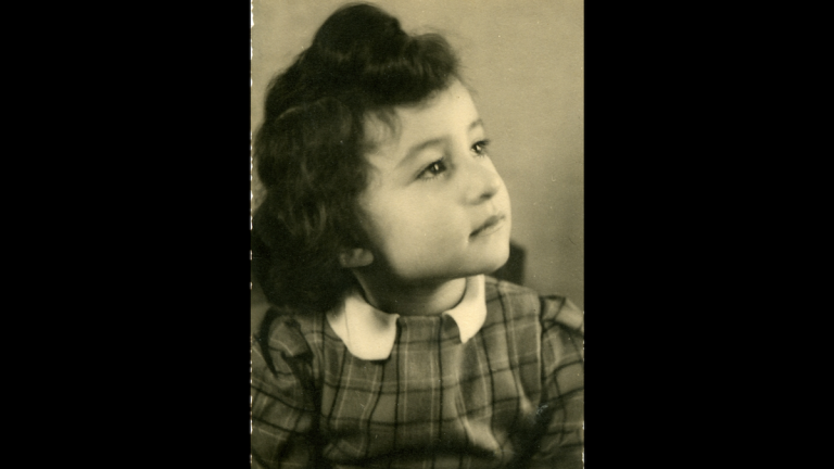A photo of Ruth Kapp Hartz as a child. (Image courtesy of Ruth Kapp Hartz)
