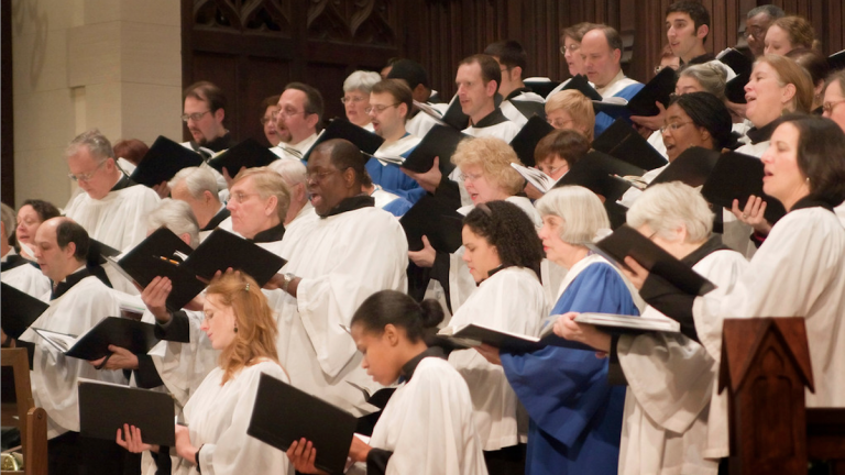 Next Sunday, the Germantown Oratorio Choir with the Philadelphia Sinfonia will perform Messiah at First Presbyterian Church of Germantown. (Image courtesy of FPCG)