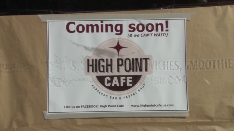 The Brewerytown location of High Point Cafe will open to the public on Dec. 1 at 7 a.m. (Christine Mattson/for NewsWorks)
