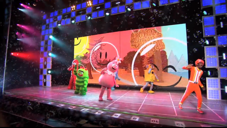 'A Very Awesome Yo Gabba Gabba! Live' holiday show will be at the Tower Theater in Upper Darby on Sunday. (Courtesy of Yo Gabba Gabba Live)