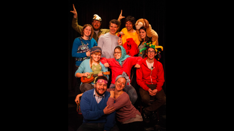 Head to the Philadelphia Improv Theater on Sunday to check out Story Up! (Courtesy of PHIT)