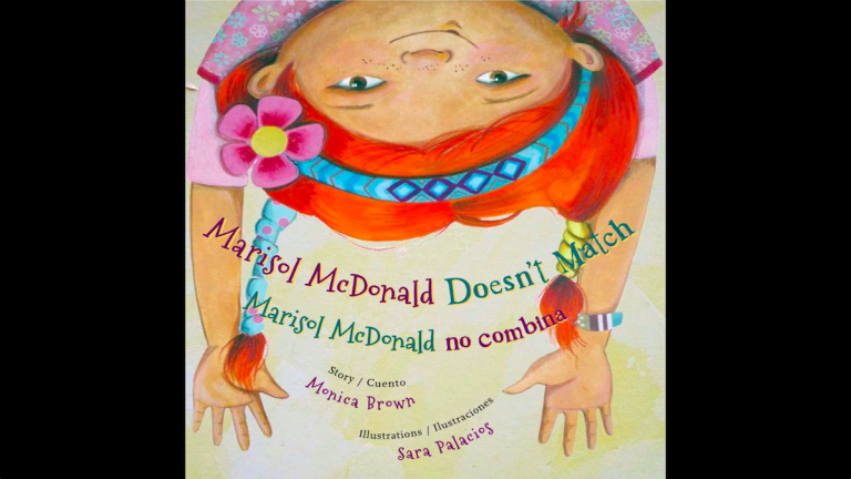 Check out Jen Bradley's list of empowering books for young girls, including 'Marisol McDonald Doesn't Match/Marisol McDonald no combina'. (Courtesy of Monica Brown)