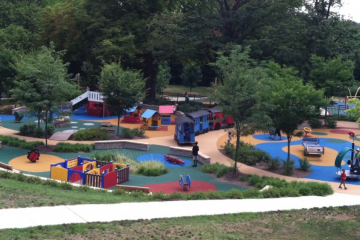Check out Smith's Playground, now open to the public for the season. (Courtesy of Jen Bradley)