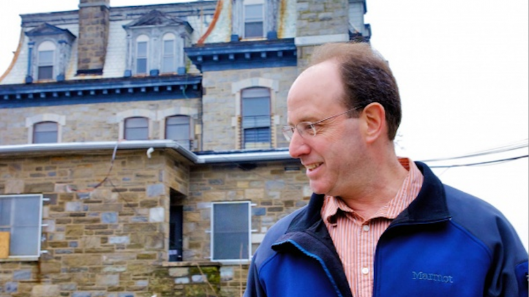 Ken Weinstein, developer of the former Germantown Settlement Charter School campus, could soon have a new tenant. (Bas Slabbers/for NewsWorks)