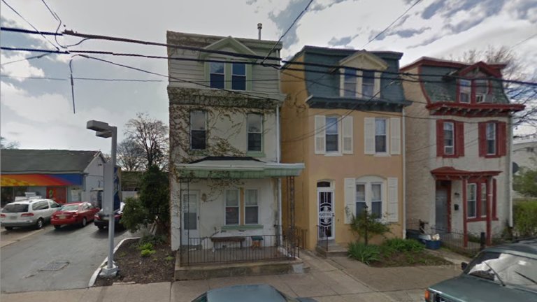A view of the West Queen Lane block where the M-80 explosion occurred. (Image from Google Maps)