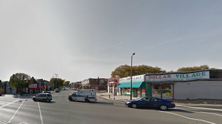 The alleged road rager jumped out of his vehicle at 19th St. and Cheltenham Ave. (Image from Google Maps)