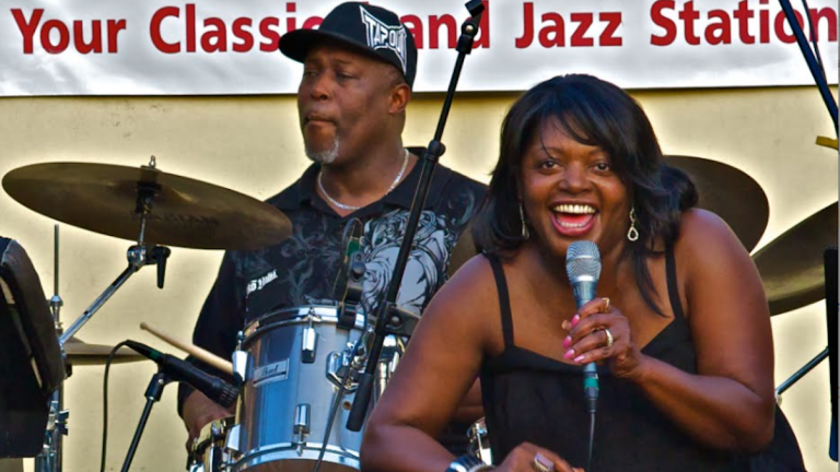 "Performers from across the city will take the stage at Saturday's G-town Jazz on the Ave.  concert. The fundraiser kicks off a ""Know Your Status Campaign"" for HIV/AIDS awareness in Northwest Philadelphia. (Image courtesy of Bebashi)"