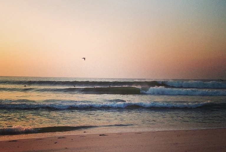 Wednesday morning in South Seaside Park. (Photo: JSHN contributor Kristin Asay)