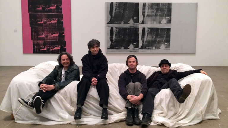 The Dead Milkmen, photographed last year at the Warhol Museumin Pittsburgh. (Courtesy of The Dead Milkmen)