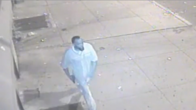 Surveillance footage of alleged burglar in East Germantown. (Photo courtesy of Philadelphia Police)