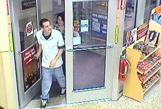 The Brick Township Police Department seeks the public's assistance in identifying two subjects that may have been involved in an incident involving a stolen credit card inside the Wawa store at 116 Brick Boulevard on Sept. 23. (Photo courtesy of the Brick Township Police Department)