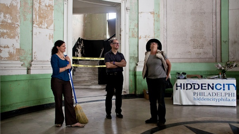 'Germantown City Hall' was temporarily reopened last year for a Hidden City exhibition. (NewsWorks