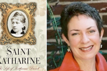 Local author Cordelia Frances Biddle's first biography, 'Saint Katharine — The Life of Katharine Drexel,' was released earlier this month. (Images courtesy of Biddle)