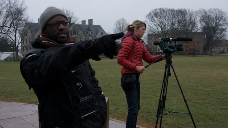Filmmaker André Robert Lee said the opportunity to attend one of the most elite prep schools in the country came with social and psychological repercussions. (Image courtesy of PSN Partners)