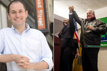 Real-estate developer Ori Feibush was the target of some catty comments at City Councilman Kenyatta Johnson's campaign-launch event this weekend. (NewsWorks, file art)
