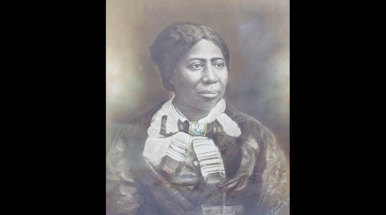 A painting of Anna Douglass served as inspiration for the author.