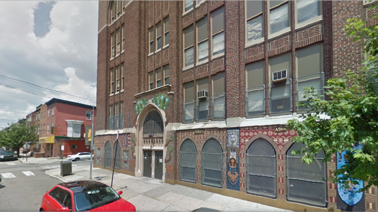 Tonight's mayoral forum will be held at the G.W. Childs School, 1599 Wharton St. (Image from Google Maps)