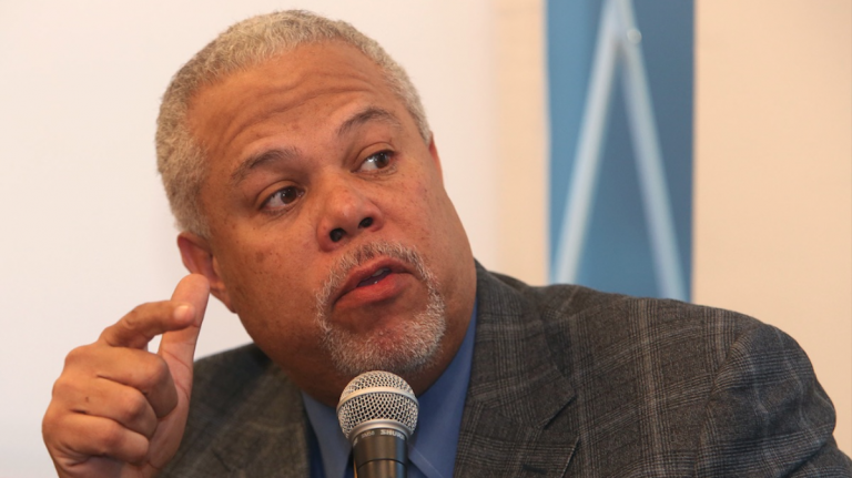 Before appearing at Monday night's Al Dia mayoral forum, candidate Tony Williams released his ethics policy. (Steph Aaronson/via The Next Mayor partnership)
