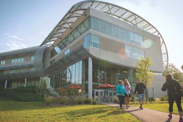 Philadelphia University's Lawrence N. Field DEC Center (Courtesy of Philadelphia University)