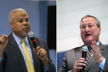 Tony Williams won the Black Clergy of Philadelphia and Vicinity endorsement, but its executive committee voted to back Jim Kenney. (Stephanie Aaronson/via The Next Mayor partnership)