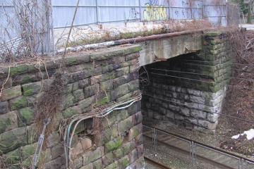 Allens Lane bridge. (Courtesy of TransSystems)