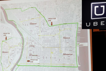 Philadelphia mayoral candidates support Uber-X, but disagree about whether they should be permitted to operate on Papal Visit weekend. (NewsWorks, file art)