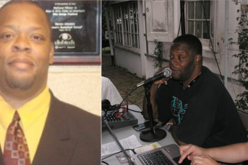 Joseph T. Heard died after being struck by a bus near the Roundhouse on Tuesday morning. (Photos courtesy of Gtown Radio)
