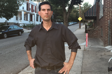 Independent mayoral candidate Boris Kindij thinks he's just the change that City Hall needs to move Philadelphia forward. (Brian Hickey/WHYY)