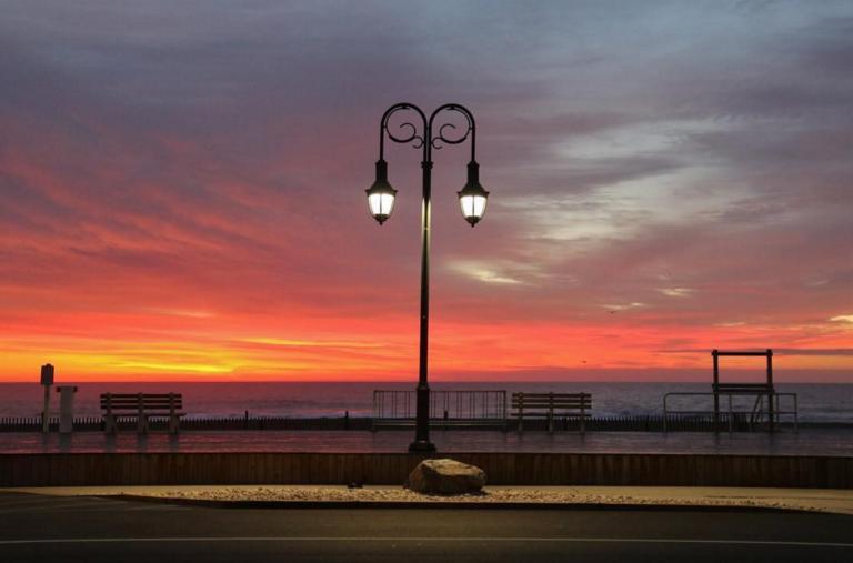 Today's sunrise in Belmar by @belmaratsunrise as tagged #JSHN on Instagram.