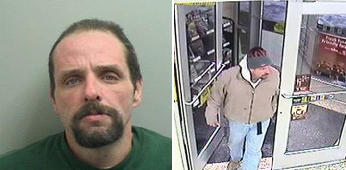 Police have issued an arrest warrant for David Byrnes, 47. (Images courtesy of the Toms River Police Department)