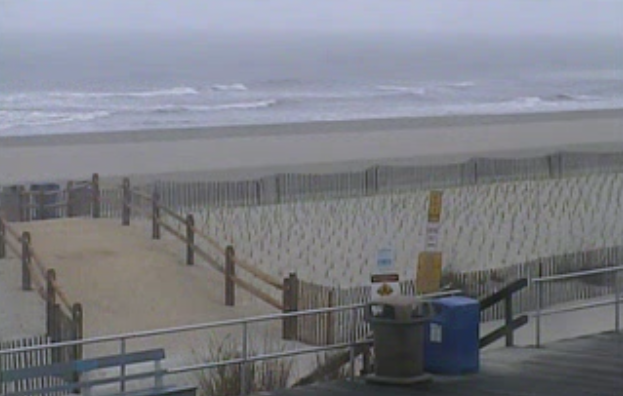 Ocean City Wednesday morning. (Image: TheSurfersView.com)