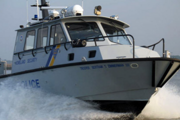 A New Jersey State Police boat. (New Jersey State Police)