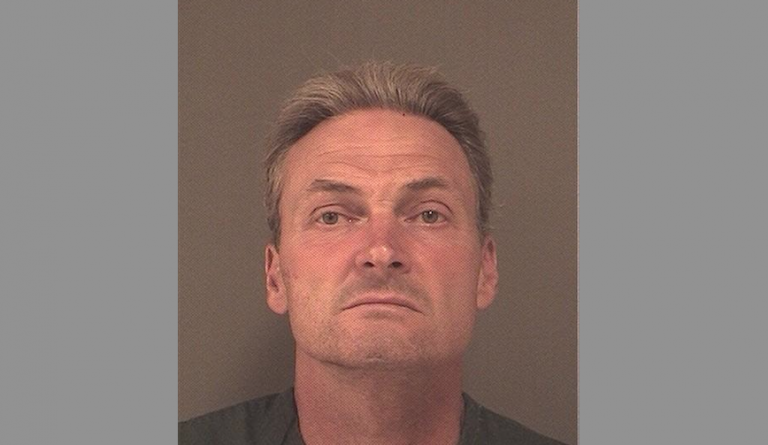Michael Arsenault, 54, has been charged in connection with a string of recent burglaries in Toms River.  (Photo: Ocean County Jail)