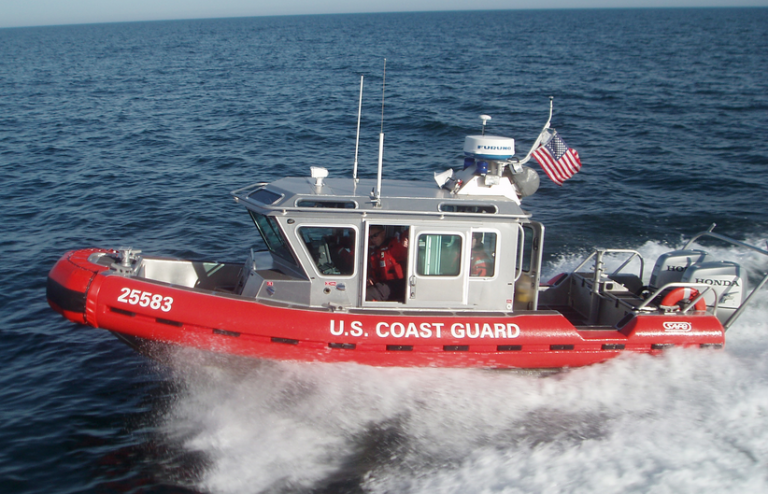 A 25-foot U.S. Coast Guard boat. (Photo: U.S. Coast Guard)