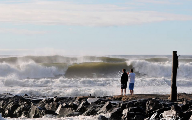 Monmouth University scientists and students are sampling water atsome New Jersey beaches before and after at least 10 storms over a year. (Courtesy of Robert Siliato)