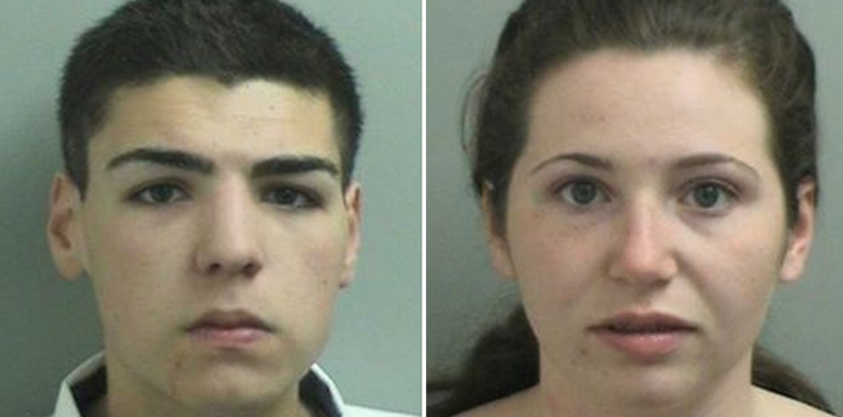 18-year-old Matthew Maffie, left, and Stephanie Rapp, also 18, were recently arrested by the Toms River Police Department for their involvement in a string of recent burglaries. (Photos courtesy of the Toms River Police Department)
