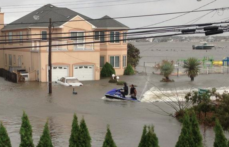 Toms River resident Frank Vincendese rescued neighbors from flood waters the day after Superstorm Sandy made landfall. Vincendese is featured in