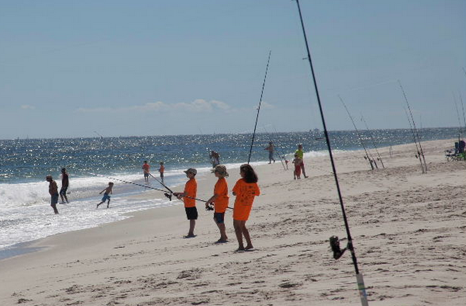 The NJBBA Children's Fishing Tournament in 2013. (Photo: Paul Danielczyk/NJBBA)