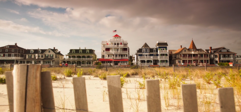 A scene from The Cape, a a short time-lapse film of Cape May by Chris Bakley.