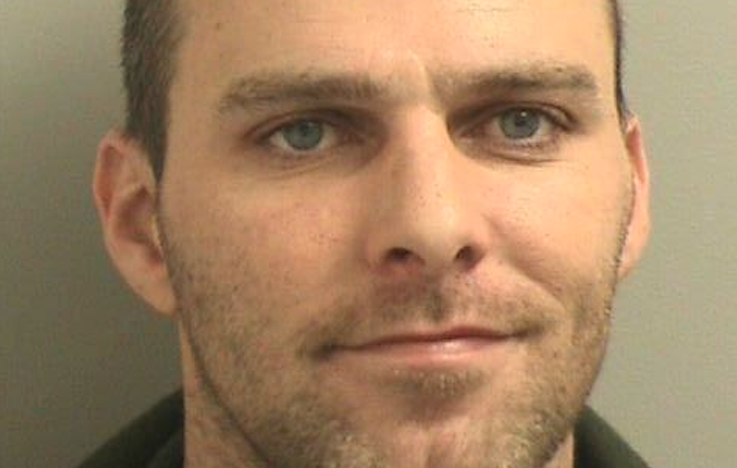 Scott Mays, 33, is in police custody after authorities raided his Toms River home early Friday morning and found oxycodone and marijuana. (Photo courtesy of the Toms River Police Department)