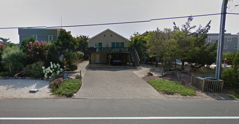The house in Barnegat Light where police discovered a deceased 60-year-old man Monday. (Image: Google Maps)