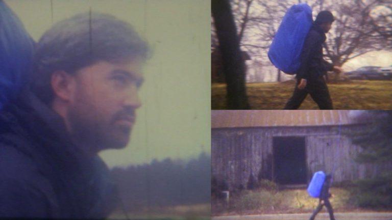Photos of Sean Hurley on his walk