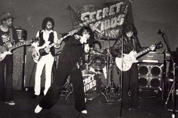 Kenn Kweder and his band, the Secret Kidds. (Courtesy of John Hutelmyer)