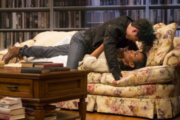Sex with Strangers is onstage at the Philadelphia Theatre Company April 8 through May 8. Photo by T. Charles Erickson.