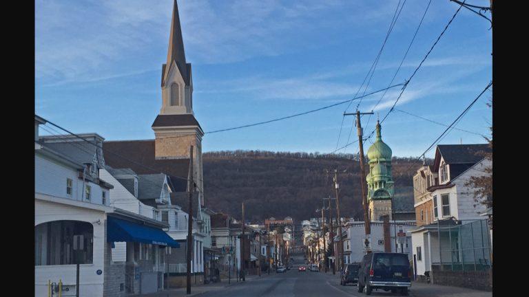 A view of Shamokin, Pa. (Emily Previti/WITF)