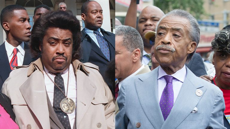 The Rev. Al Sharpton, 1988 and 2014 (Charles Wenzelberg and John Minchillo/AP Photos)