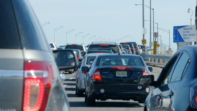 Drivers are shown on their way to Seaside Heights, N.J. (Bas Slabbers/for NewsWorks, file)