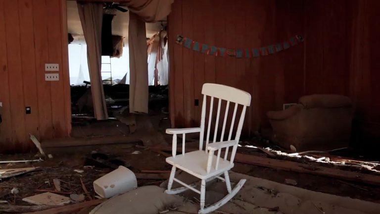 Post-Sandy devastation. (Courtesy of Ben Kalina)